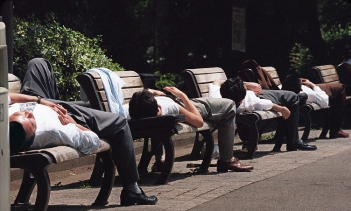Why are the Japanese the Kings of the Nap?